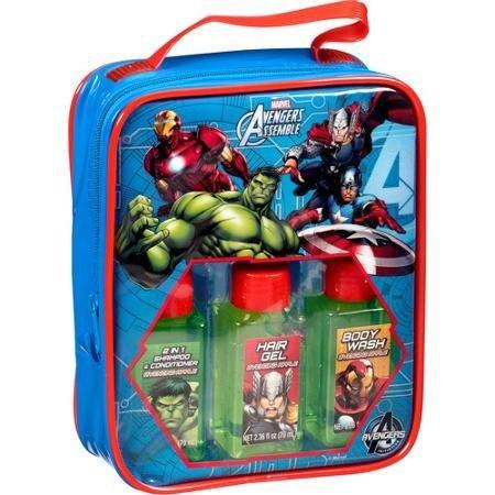 【激安大特価!】 Marvel Avengers Assemble Travel Pc Bath Gift Set 4 Set Assemble Pc [並行輸入品] B01K1UJPTU, 【国内正規品】:4cc6a434 --- clubavenue.eu