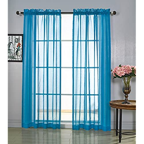 Dining Room Valances: Dining Room Curtains: Amazon.com