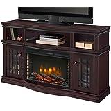 """Muskoka 370-154-48 Sutton 56"""" Media Espresso Electric Fireplace"""