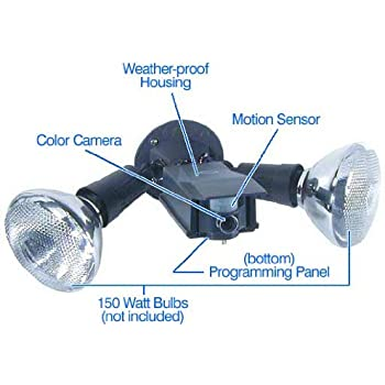 Amazon Com X10 Flood Light With Motion Activated Camera