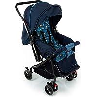 Carrinho de Bebê Happy - Azul