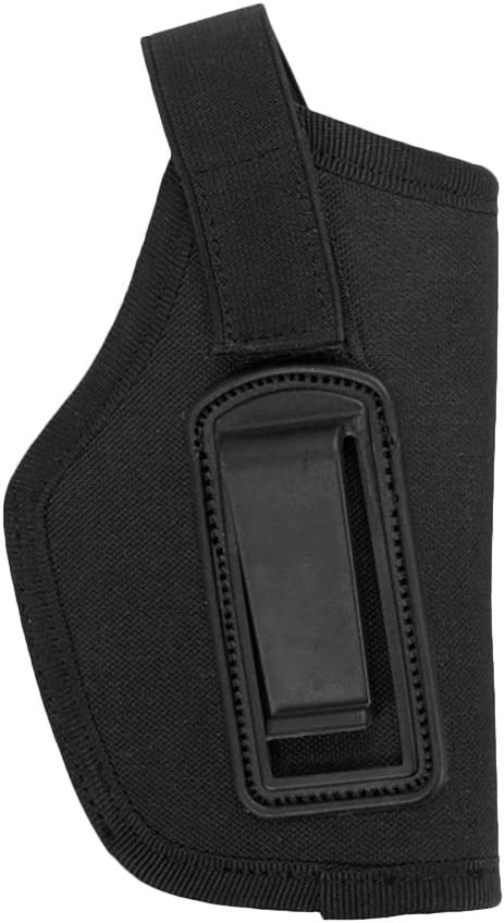 Vosarea Funda Universal Tactical Holster Inside Waistband Oculto Carry Clip-On Holster (Negro)
