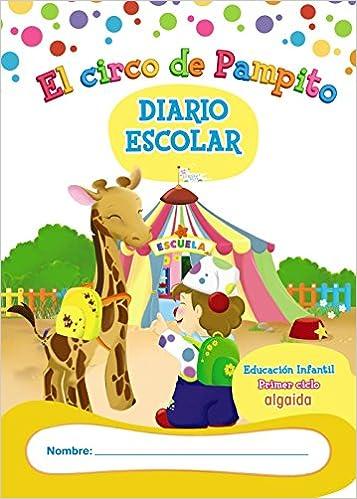Libro-Agenda/Diario de Clase. El circo de Pampito. 1º Ciclo ...
