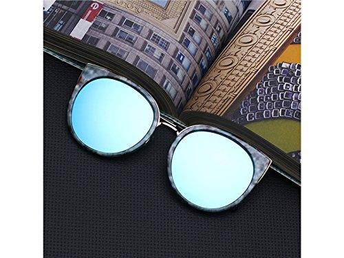 Diseño Las Mujeres Vintage Coloridas del del Sol de Gafas ti Kangqi Gato del de Caballo del de Montar a Ojo para Zgfp68qx