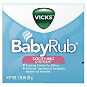 Vicks BabyRub Soothing Chest Rub Ointment, 1.76 Oz (Pack of 6)