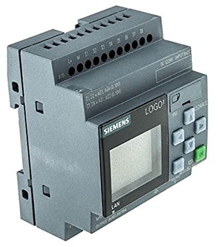 Siemens Stlogo Logico 12 24rce Display Pu I O Modul 12 24vdc Gewerbe Industrie Wissenschaft