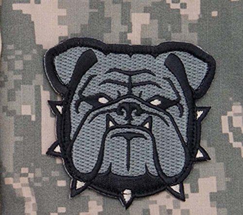 Bulldog Head - Bulldog Head Large Morale Patch - ACU