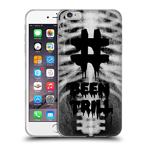 Official Been Trill Rib Cage 3D Scans Soft Gel Case for Apple iPhone 6 Plus / 6s Plus