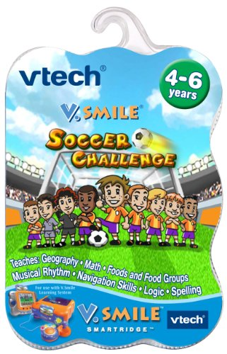 V Smile Game Soccer Challenge for sale  Delivered anywhere in USA