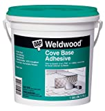 DAP 25054 Dap 1-Gallon Weld Wood Cove Base Adhesive, Off-White