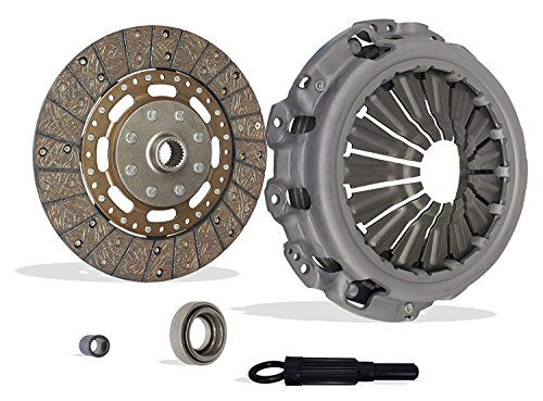 Clutch Kit Works With Nissan Frontier Xe S Sv Se Xe Extended Crew Cab Pickup 4-Door 2005-2013 2.5L 2500CC l4 GAS DOHC Naturally Aspirated ()