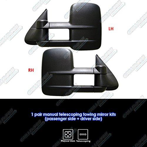 Amazon Aps 19992007 Chevygmc Silveradosierra Manual. Amazon Aps 19992007 Chevygmc Silveradosierra Manual Telescoping Towing Mirror Pair Automotive. Chevrolet. 2002 Chevy Tahoe Mirror Parts Diagram At Scoala.co