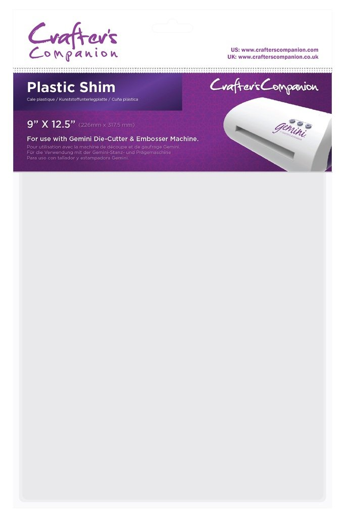 Crafter's Companion Replacement Gemini A4 Plastic Shim Accessory (1PK)