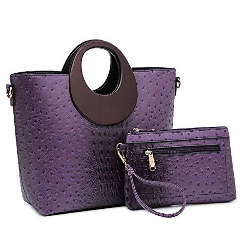 Purple Designer Handbags - 6