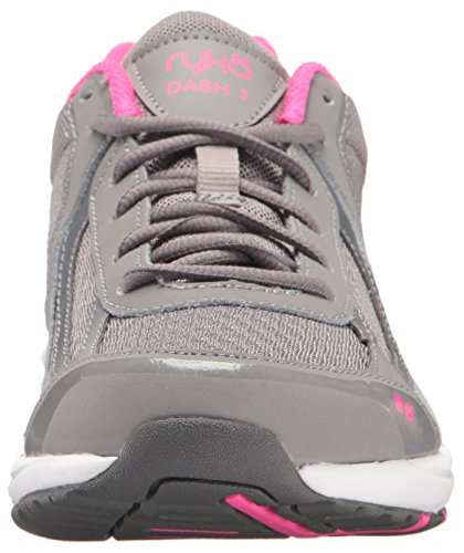 Pink 3 Ryka Walking Women's Shoe Dash Grey wO0qSYTA