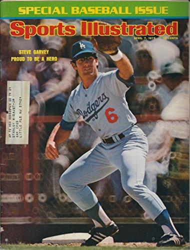 Sports illustrated April 7 1975 Steve Garvey Dodgers - Dodgers Mlb Clubhouse