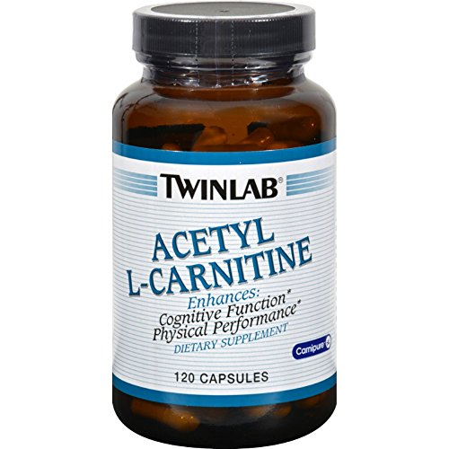 2Pack! Twinlab Acetyl L-Carnitine - 500 mg - 120 Capsules by Amino Acids
