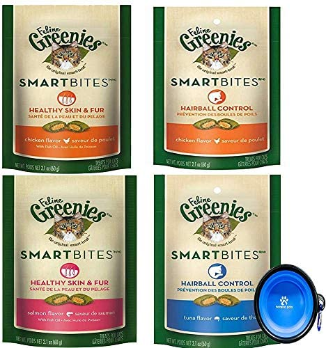 Greenies SmartBites Variety Hairball Collapsible