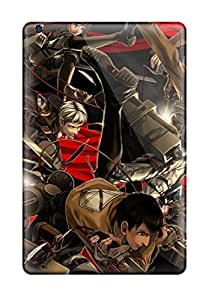 Hot Premium Durable Attack On Titan Fashion Tpu Ipad Mini 3 Protective Case Cover