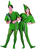Peter Pan Costume - Unisex Teen/Adult Costume - XS Size