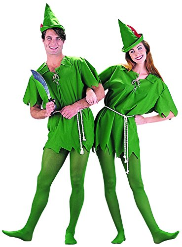 Peter Pan Costume - Unisex Teen/Adult Costume - XS Size ()