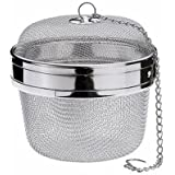 "Happy Sales Spice Ball Herb Infuser Extra Large 3.5""D, Stainless Steel"