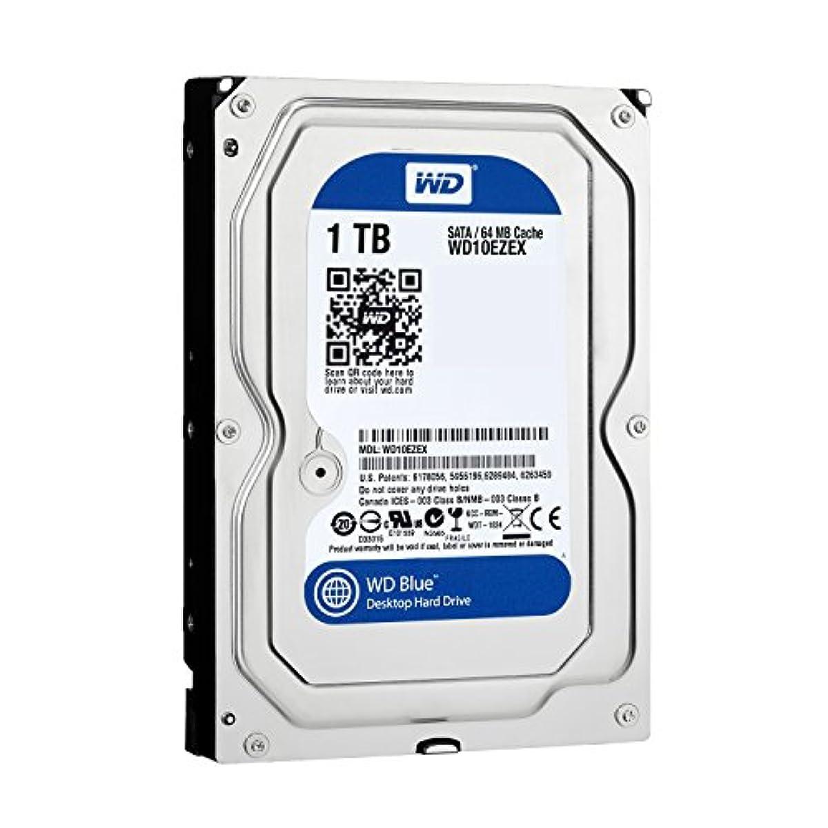 [해외] WESTERN DIGITAL WD BLUE 내장HDD 3.5인치 스탠다드 모델 1TB SATA 3.0SATA 6GB/S WD10EZEX