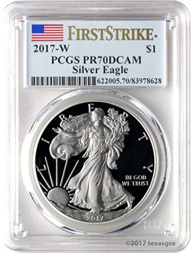 2017 W American Silver Eagle Commemorative PR 70 PCGS ()