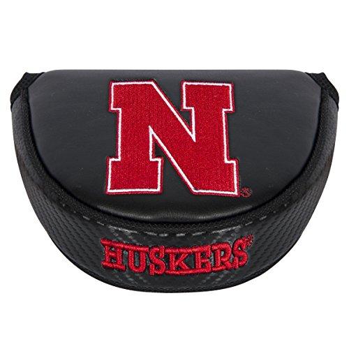 Team Effort NCAA Nebraska Cornhuskers Mallet Putter Coverblack Mallet Putter Cover, Black, NA