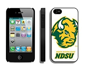 Best Designer Iphone 4/4s Case Personalized Cellphone Cover Ncaa North Dakota 1