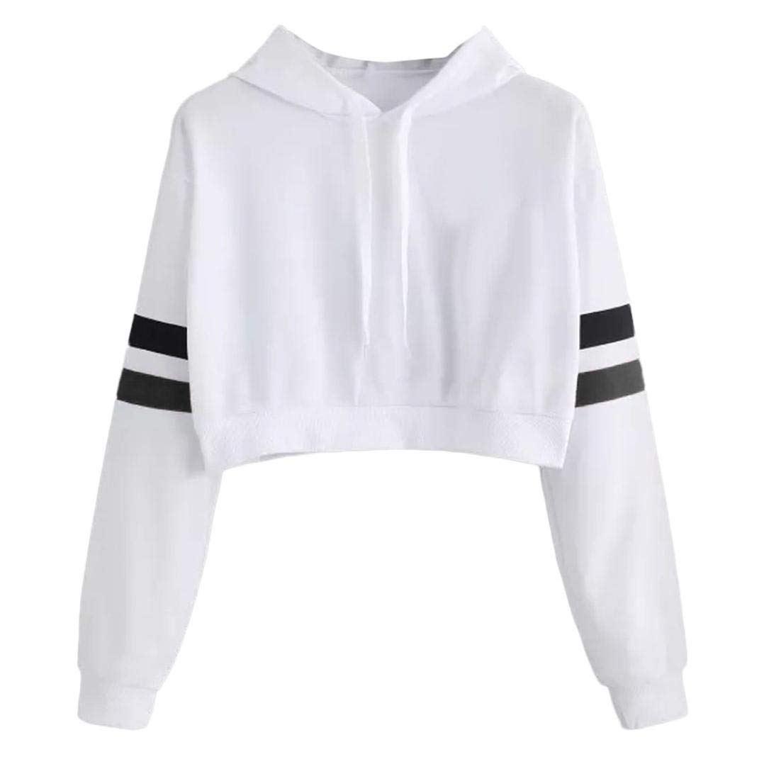 Women Tops Clearance Sale Womens Plus Size Letters Long Sleeve Hoodie Sweatshirt Hooded Pullover Blouse
