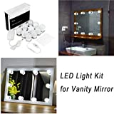 Hollywood Style LED Vanity Mirror Lights Kit for Makeup...