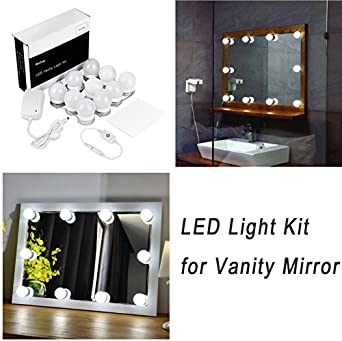 Hollywood Style Led Vanity Mirror Lights Kit For Makeup