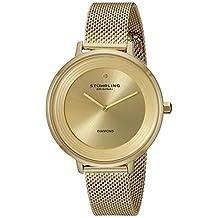 Stuhrling Original Women's 589.03 Symphony Analog Display Quartz Gold Watch