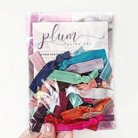Creaseless Hair Ties (25 Pack) Stocking Stuffers for Girls, Tweens, Teens and Adults Women
