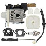 Mckin RB-K75 Carburetor SRM210 Parts fits Echo GT200R GT201R GT200 SRM211 HC150 HC151 SHC210 PE200 PE201 HC201 HC200 HC180 HC181 HC160 HC161 PPF210 PPF211 Trimmer Weed Eater