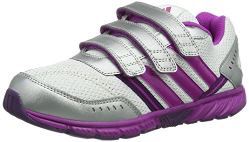 Sportive Unisex D66042 K S14 faito S13 Lt Bianco weiß Pink White running d66042 A Vivid Ftw Purple Scarpe Performance Tribe Bambini Cf Adidas qwzvpz