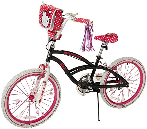 (Hello Kitty 8108-60TJ Girls Bike, 20-Inch, Black/Pink/White)
