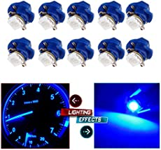 saturn car alarm wiring diagrams cciyu 10 pcs car t5 b8 4d 5050 1smd purple blue led lamps dashboard side indicator lights for 2003 2007 saturn ion