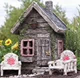 My Fairy Gardens Fairy Shed w/ Swinging Door New Fairy House Fairy Cottage Review