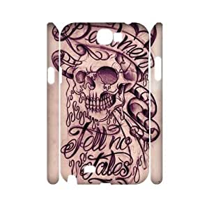 Tattoo CUSTOM 3D Case Cover for Samsung Galaxy Note 2 N7100 LMc-77454 at