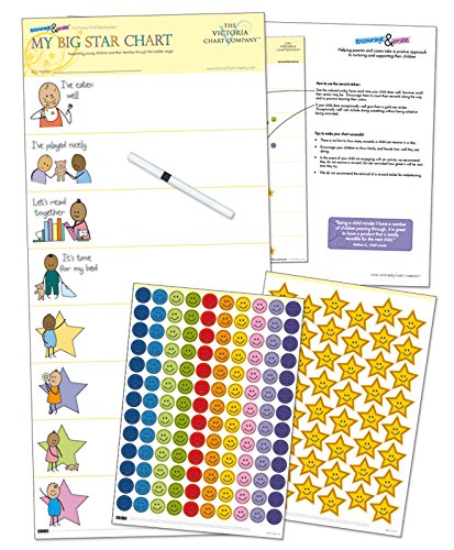 (My Big Star Reward Chart (2yrs+) - Award Winning - Great Results - Manage Toddler Development with Positive Reinforcement (25 x 11 inches))