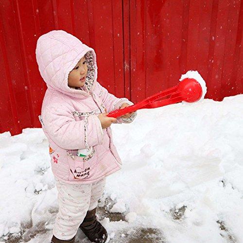 MIJORA-Outdoor Snowball Pliers Former Snowball Fight Kids Children Winter Toy Xmas Gift