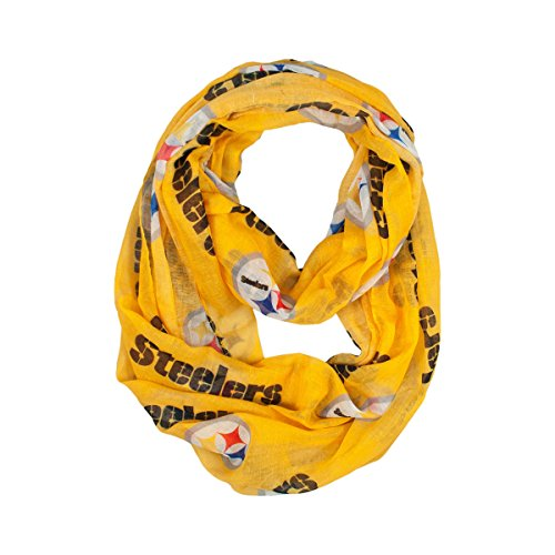 NFL Pittsburgh Steelers  Sheer Infinity Scarf
