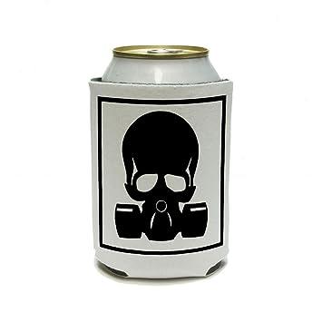 Zombie Outbreak Response Team – Calavera Máscara antigas latas – Puerta Vaso aislante – Aporte aislado