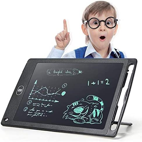 8.5 Portable Smart LCD Writing Tablet Electronic Notepad Drawing Graphics Board with Stylus Pen with Battery Gift for Children
