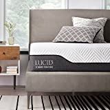 Best mattress - LUCID 10 Inch Queen Hybrid Mattress - Bamboo Review