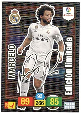 Adrenalyn XL Card Firmada Marcelo (Real Madrid) Liga 2018 2019 ...