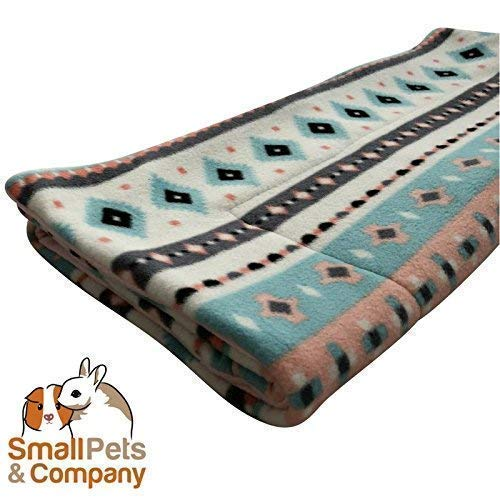 (Guinea Pig Fleece Cage Liner for Midwest Habitat | Guinea Pig Bedding | Guinea Pig Fleece | Pretty Tribal)