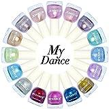 Owill Women Girls My Dance Flow Gold Mirror Chrome Effect Nail Polish Nails Art Glitter